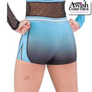 T2198  Wave Cheer Team Dry Fit Hot Pants Back