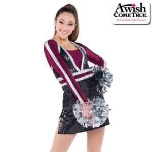 T2247  Steady Cheer Pom Dance Elite Sequin Dress