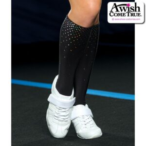 T2251  Cheer Socks With Sparkle Dot