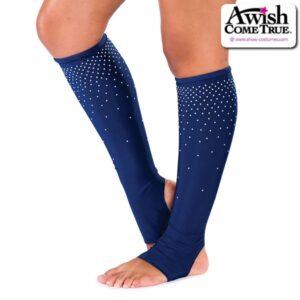 T2252  Team Dance Pom Cheer Socks