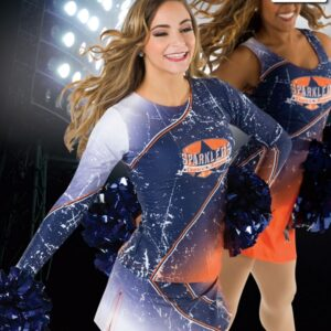 T2315  Ambition Cheer Team Long Sleeve Top