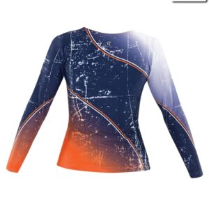 T2315  Ambition Cheer Team Long Sleeve Top Back