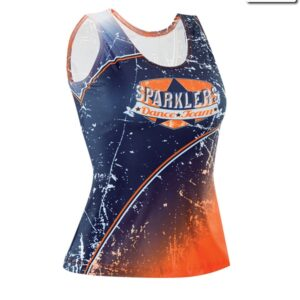 T2319  Ambition Cheer Team Tank Top Front