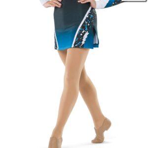 T2416  Cosmic Cheer Team Skirt
