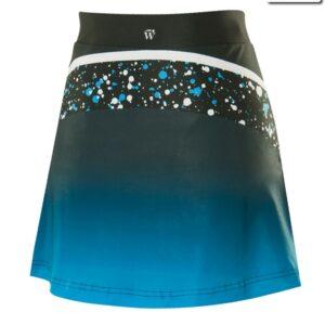 T2416  Cosmic Cheer Team Skirt Back