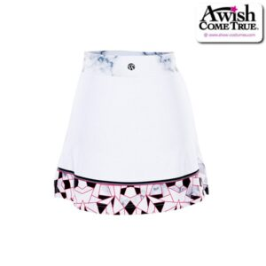 T2516  Perfection Ultra Impress Cheer Team Foil Skirt Back