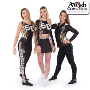 T26  Courage Ultra Impress Cheer Team Foil Crop Top Group