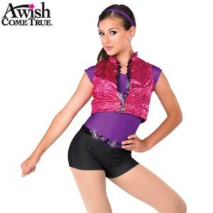 V1616 27 2020 Pretty Girl Roack 2020 Hip Hop Street Dance Costume 2020 Fuchsia