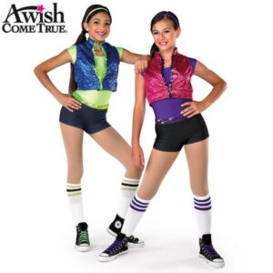 V1616  A 2020 Pretty Girl Roack 2020 Hip Hop Street Dance Costume