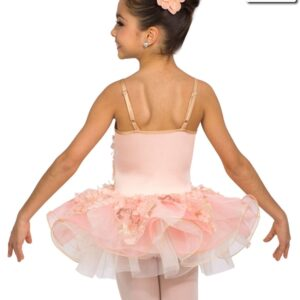 V2090Y  Satin Slipper Ballet Value Costume Back