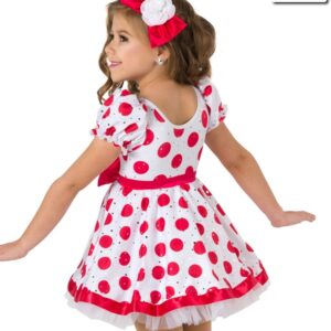V2098Y  Animal Crackers Tap Jazz Character Value Costume Back