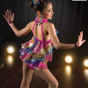 V2110Y  Starlight Express Jazz Tap Value Costume Back