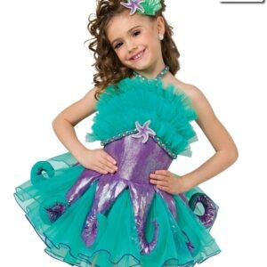 V2215Y  Octopus Garden Character Dance Costume