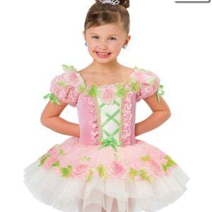 V2261Y  Oh What Wonders Floral Ballet Tutu