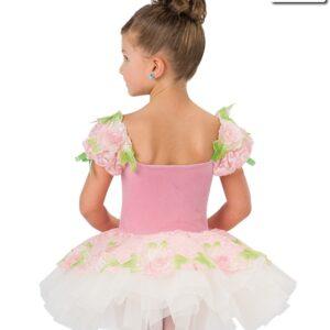 V2261Y  Oh What Wonders Floral Ballet Tutu Back