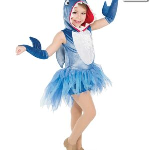 V2264Y  Baby Shark Childrens Character Dance Costume