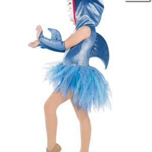 V2264Y  Baby Shark Childrens Character Dance Costume Back