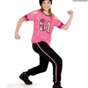V2278Y  Youre The One Sequin Mesh Hip Hop Dance Costume