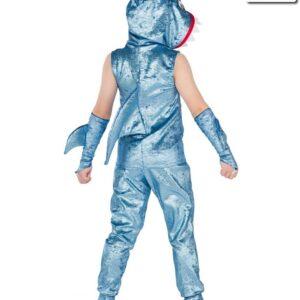 V2310  Baby Shark Boys Character Dance Costume Back