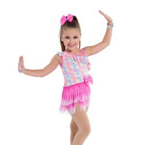 V2333Y  Big Beat Kids Jazz Tap Dance Costume