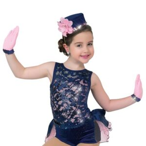 V2335HP  When You Dream Kids Dance Hot Pants With Leotard