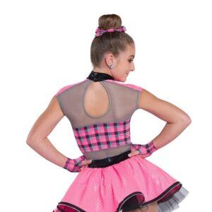 V2336  Middle Child Hip Hop Dance Costume Back
