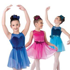 V2353  Fly To Your Heart Kids Lyrical Dance Dress