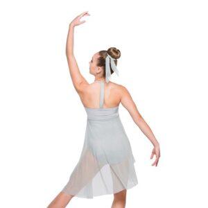 V2363Y  Concrete Angel Lyrical Contemporary Dance Dress Back