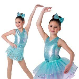 V2366Y  Wildest Dream Kids3in1 Jazz Tap Dance Costume
