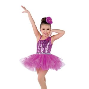 V2367Y  Thanks A Bunch Kids Jazz Tap Dance Costume