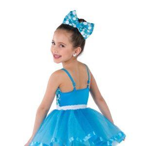 V2368Y  Gitchee Goo Kids Jazz Tap Dance Costume Back