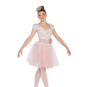 V2402Y  The Painter Foil Stretch Lace Ballet Tutu