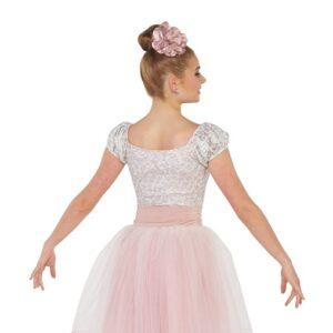 V2402Y  The Painter Foil Stretch Lace Ballet Tutu Back