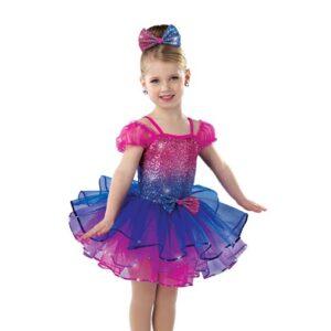 V2406Y  Forgive Me Kids Jazz Tap Dance Costume
