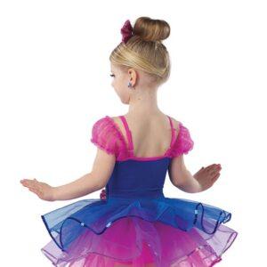V2406Y  Forgive Me Kids Jazz Tap Dance Costume Back