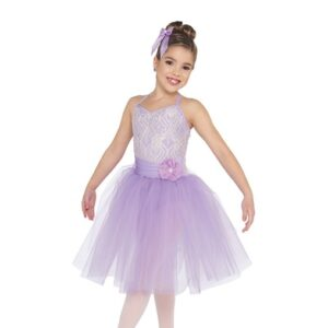V2426  A Million Dreams Kids Ballet Tutu Lavender