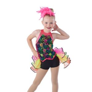 V2439  Off To The See The World Jazz Dance Costume