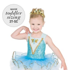 V2443  Wish Upon On A Star Toddler Dance Costume A