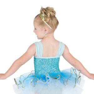 V2443  Wish Upon On A Star Toddler Dance Costume Back