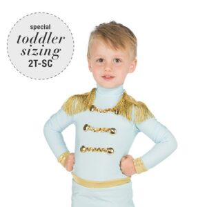 V2444  Wish Upon A Star Toddler Boys Dance Top