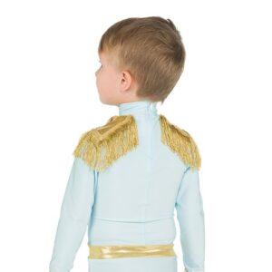 V2444  Wish Upon A Star Toddler Boys Dance Top Back