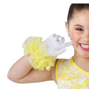 V2446G  Walking On Sunshine Gloves Dance Costume Accessory