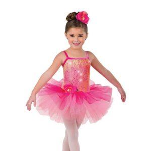 V2472  Kids Sequin Embroidered Ballet Tutu