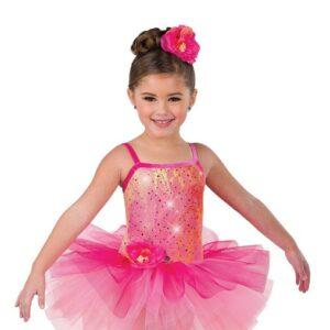 V2472  Kids Sequin Embroidered Ballet Tutu A