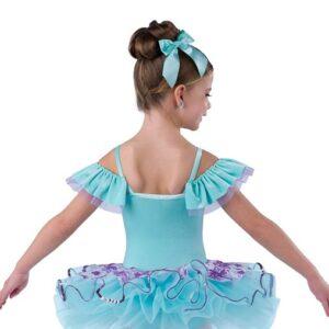 V2481  Hush Little Baby 2020 Kids Sequin Lace Ballet Tutu Back