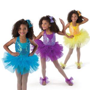 V2488  Lend A Hand Kids Pailette Sequin Tap Dance Costume