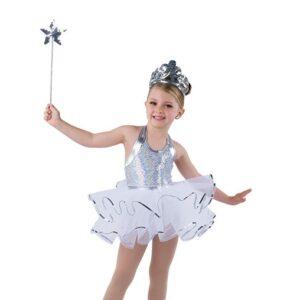 V2490  Sequin Christmas Tap Dance Costume