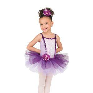 V2493  Curtsy Kids Glitter Velvet Ballet Tutu