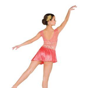 V2530  Sequin Spandex Lyrical Dance Dress Back